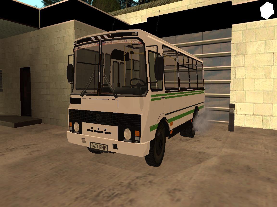 ПАЗ 3205-атобус, с бензиновым двигателем ЗМЗ-5234.10, на мостах КААЗ/РЗАА с пневматической тормозной системой с АБС.
